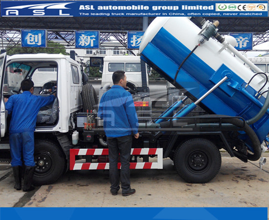 Best 2CBM Isuzu Sewer Trucks have passed testing sucessfully