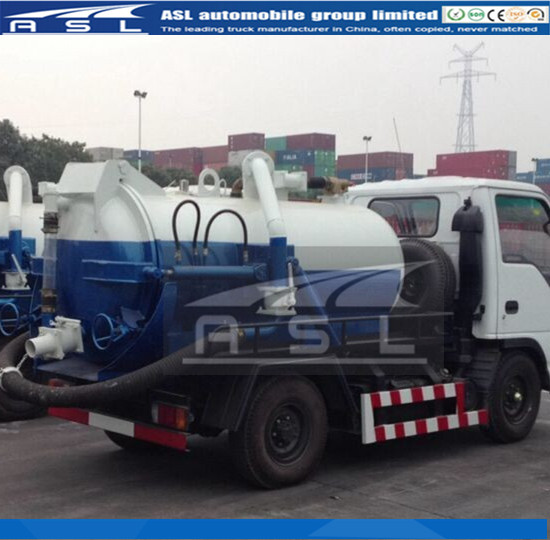 China Best 2CBM Vac Trucks are await to be on ship