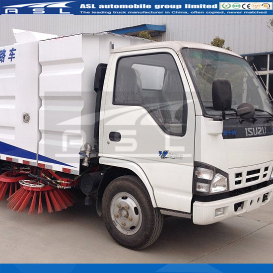 Best ISUZU 6wheels Road Sweepers exported to Myanmar.