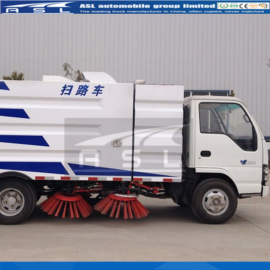 Myanmar clients purchased other more 5units China Best 3CBM Street Sweepers