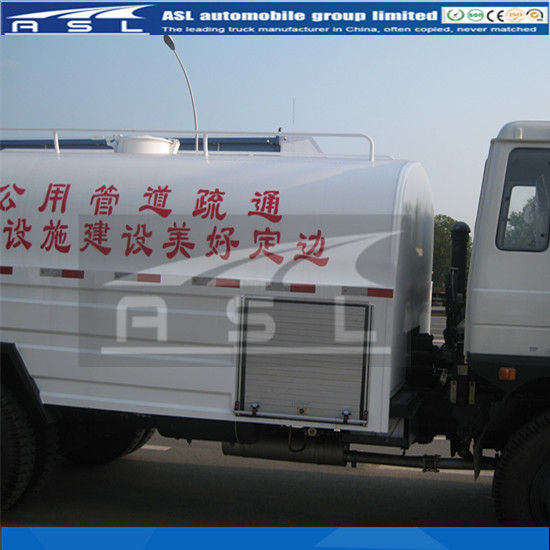 5CBM Dongfeng Jetting Water Trucks are welcomed by Africa clients