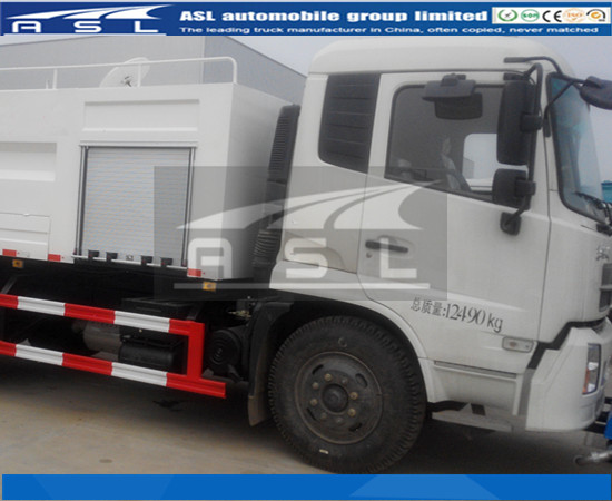 Dongfeng Kingrun 6wheels Water Jetting Trucks purchased by Ghana clients