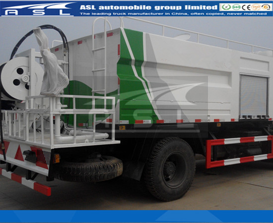 More five units 8CBM China High Pressure Jetting Trucks will be shipped to Ghana