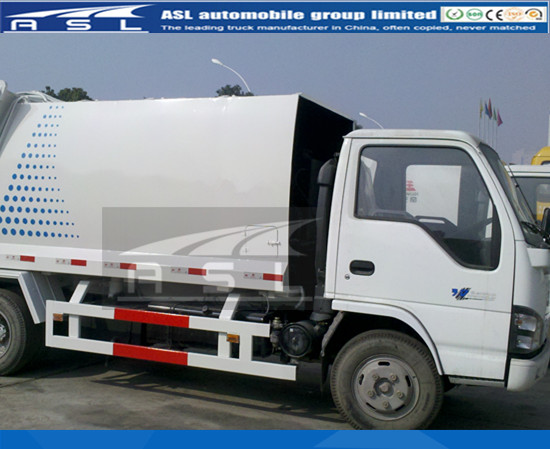 China Best 5CBM Garbage Trucks will ship to Kenya