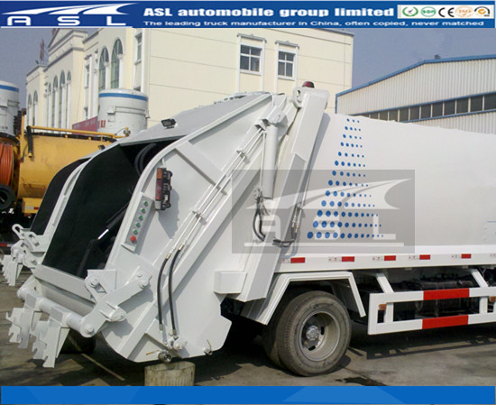 6wheels ISUZU Refuse Collection Trucks used to compact life garbage