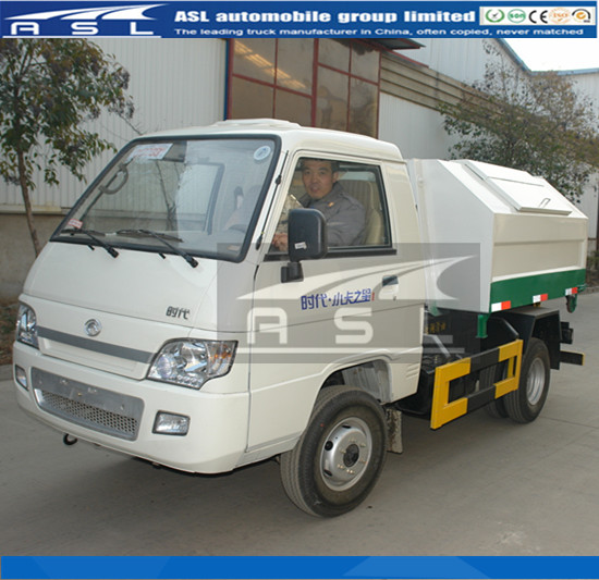 Light 2T Arm Roll Trucks will be used in garbage area