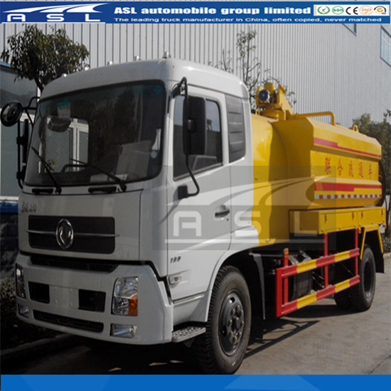 China Sinotruk HOWO Combined Vehicles is combination truck has vacuum pump and high pressure pump