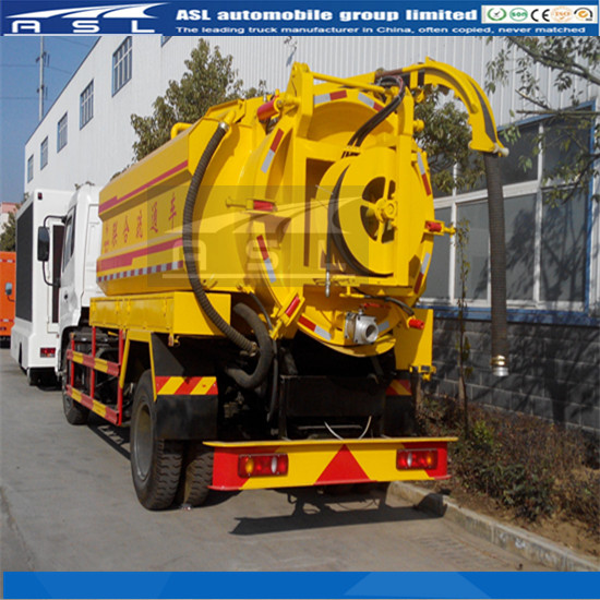 China Sewer Cleaning Combine Trucks will be worked in sanitation treatment department