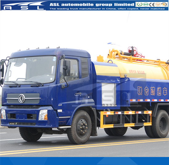 Canal Jetting And Sewage Trucks equipped Chinese high pressure pump