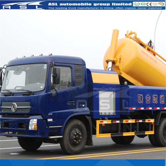 Dongfeng Kingrun 6wheels Combined Vehicles equipped with Italy KF36 high pressure pump