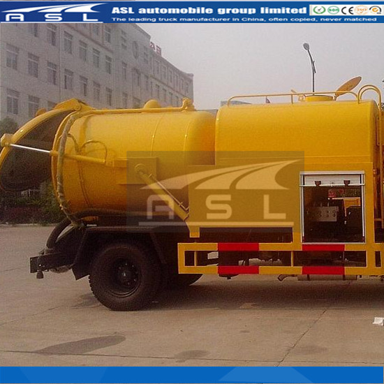 Best Combined Sewer Flushing And Suction Vehicles is purchased by Zambia clients