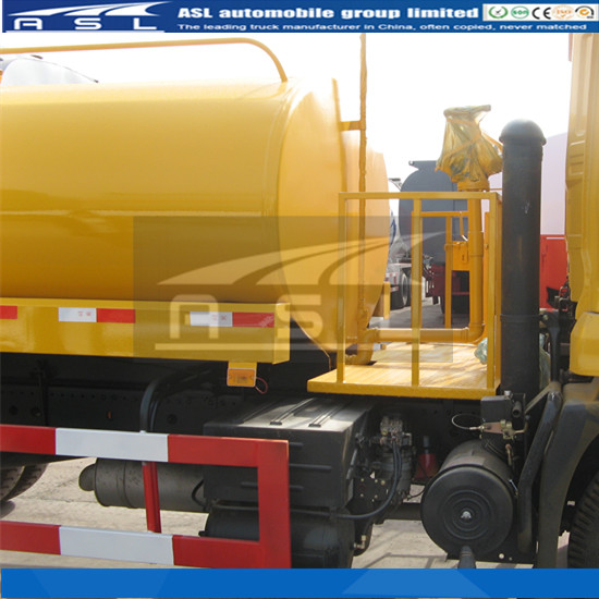 Brand New Water Carter Tank Trucks composed with left side figuration of the entire truck