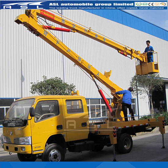 16meters Aerial Access Work Platform Trucks structure introduction