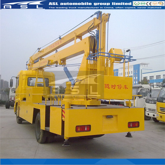 22m Vehicle Mounted Aerial Work Platforms meet your customized requirements