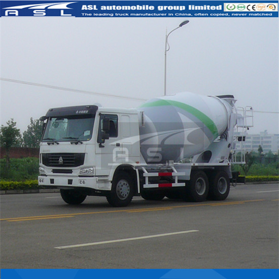 Sinotruk HOWO 10cbm Concrete Mixer Trucks have advanced transmitting system