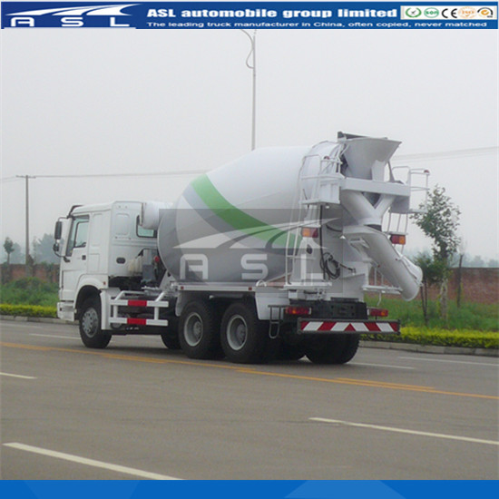 Advanced 8cbm HOWO Concrete Mixers mixing system we have shown in operation manual