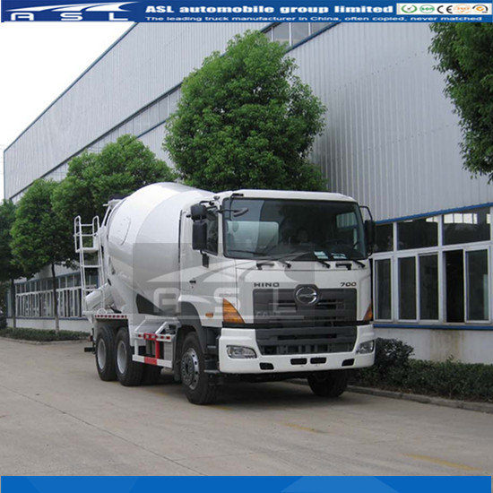 New HINO 8cbm RHD Truck Mixers with stronger chassis and suspension systems