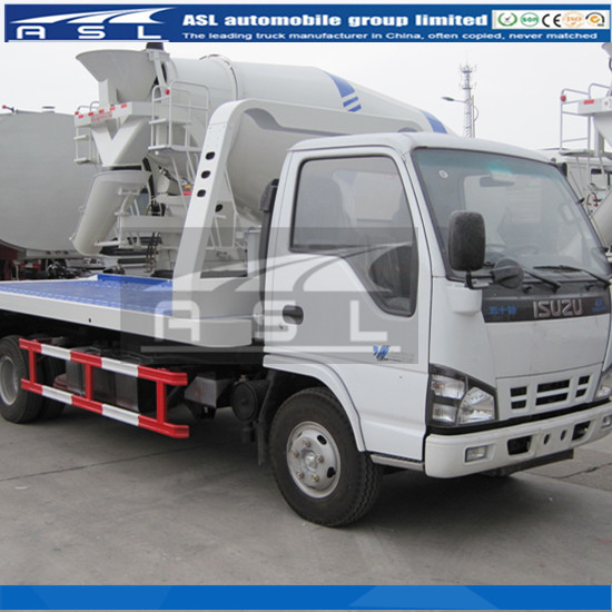 Light ISUZU 6wheels Boom trucks atopted CAE technology for key parts
