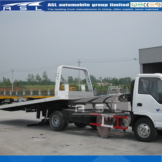 ISUZU 3T Tow Truck Wreckers using HG70 high strength welding steel for the important parts