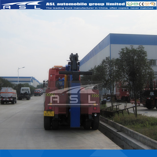 RHD 10T Crane Wrecker Trucks have been exported the products to middle east