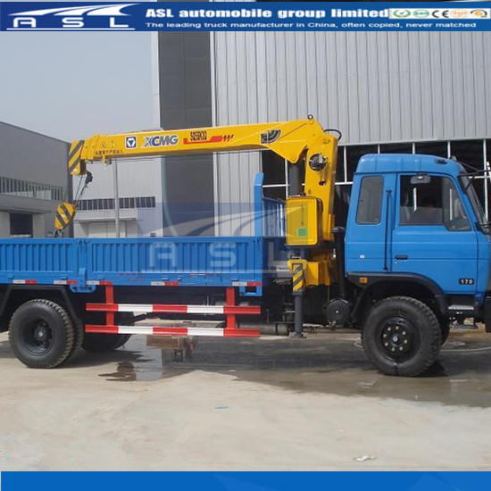 China Dongfeng Lorry With Cranes have advanced controll mechanism