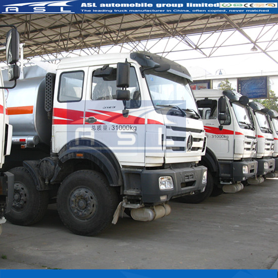 15CBM China Beiben Oil Tank Lorries also purchased by Congo clients