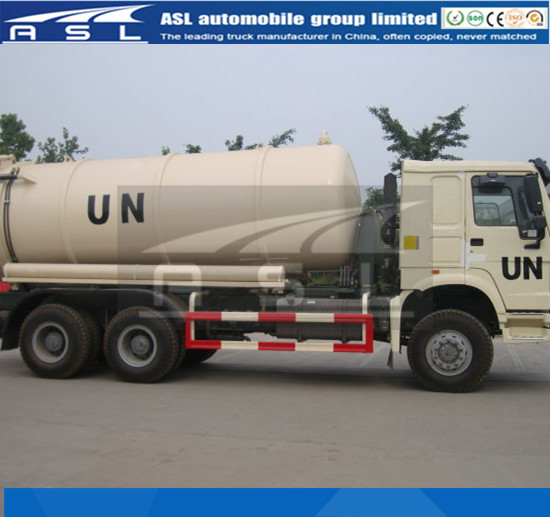 China 10wheels Vacuum Trucks adopted Sinotruk HOWO chassis