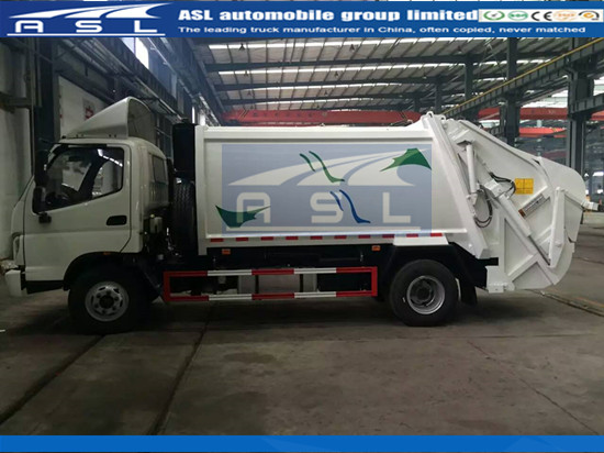 Cheap FOTON Forland Compactor Garbage Trucks shiped to Mombasa