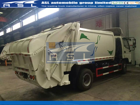 China FOTON Compressed Garbage Truck Suppliers produce best garbage trucks