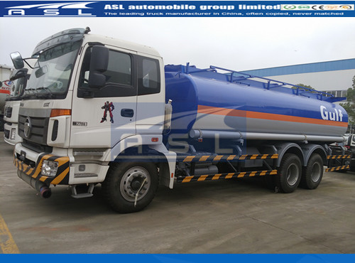 China FOTON 18000Litres Oil Truck Suppliers export oil trucks to Malawi