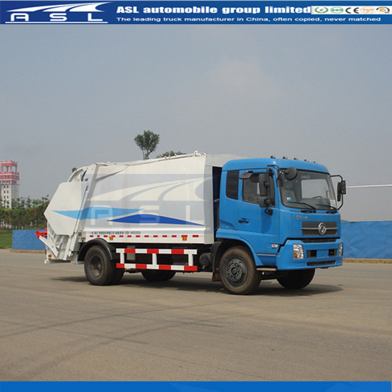 Cheap FAW Compactor Garbage Trucks have good service in Zambia