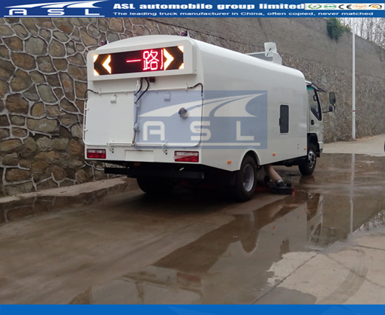 Best Paraguay 3CBM Road Sweepers produced in China ASL