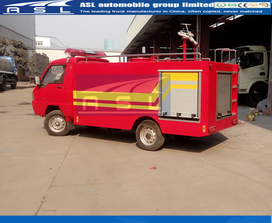 China 4Wheelers Fire Vehicle Suppliers provide truck to Turkmenistan client