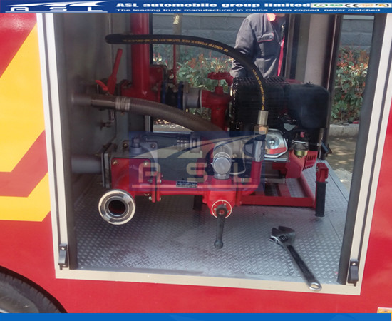 China Small Fire Engines For Sale to Middle Asia Countries