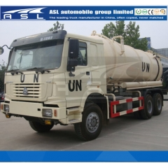 Best HOWO 12Cbm 10Wheels Vacuum Trucks export to UN
