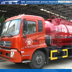 Dongfeng 8000Litres 6Wheels Vacuum Trucks to Uruguay