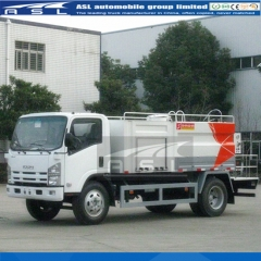 ISUZU 5000Litres Water Jetting Trucks exported to Myanmar