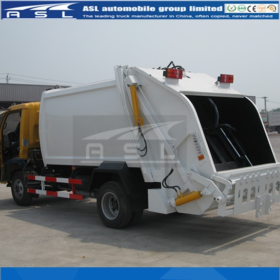China 5CBM Refuse Collection Trucks ordered 50units by client
