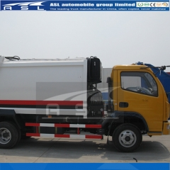 Dongfeng 6 Wheels Garbage Trucks will ship to UAE