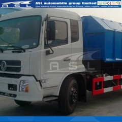 China Dongfeng Kingrun 12T Arm Roll Trucks export to Mauritius
