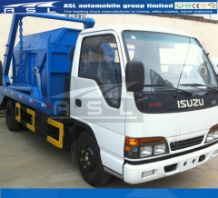 ISUZU 4CBM Skip Loaders Exported To Paraguay