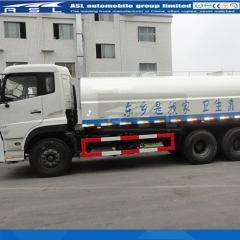 China Dongfeng 25CBM Water Tankers export to Peru