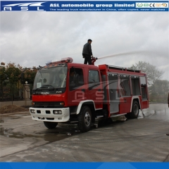 ISUZU Firefighter Water Trucks exported to Mongolia