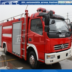 Dongfeng EQ 10000Litres Fire fighter Vehicles exported to Tanzania