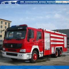 Sinotruk HOWO 20000Litres Fire Trucks exported to Nigeria