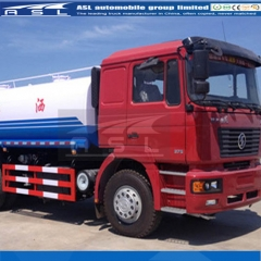 China Shacman 20CBM Water Trucks export to Ecuador
