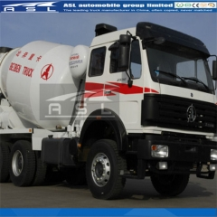 Beiben 12CBM Concrete Drum Mixers purchased by Congo clients