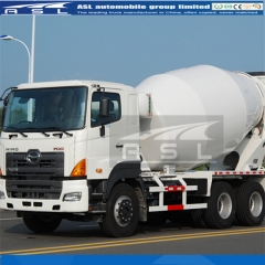 8cbm 10Wheels Concrete Mixer Trucks export to Saudi Arabia