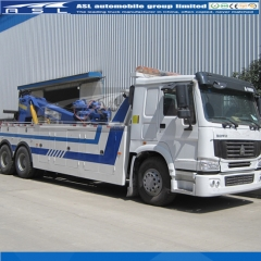 HOWO 10Wheels Heavy Duty Tow Trucks export to Singapore