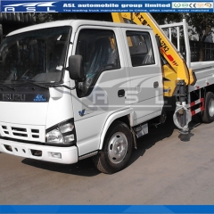 ISUZU 3Tons Truck Mounted Cranes export to Bangladesh